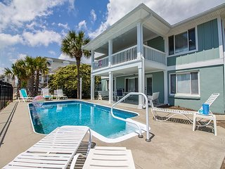 Book 2018 at 2017 Rates ~ Family Beach House with Pool & Golf Cart friendly!