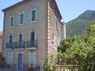 Spacious Maison de Maitre in Axat Aude a pretty town in the Pyrenees foothills