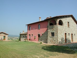 4 bedroom Apartment in Badicorte, Tuscany, Italy : ref 5490349