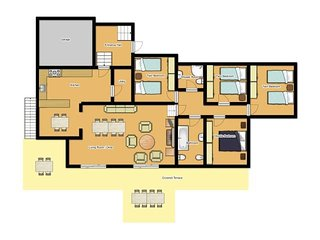 4 bedroom Villa in Binibequer Vell, Balearic Islands, Spain : ref 5334706