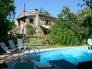 5 bedroom Villa in Rocca Ripesena, Umbria, Italy : ref 5490457