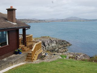 Stunning waterfront location on wild atlantic way.