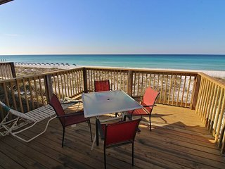 Capri by the Gulf 115, Private Balcony overlooking The Gulf of Mexico!