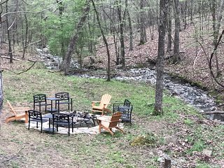 LOOK!!! Private WATERFALL - COUNTRY LIVING ON 2 ACRES WITH OUTDOOR ACTIVITIES