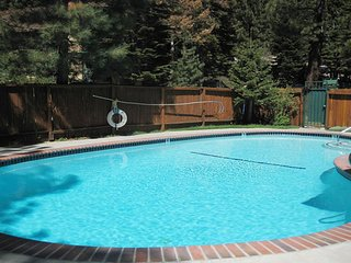 Mountain home with shared pool, hot tub, sauna, near skiing and more