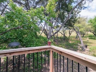 Serene Hill Country Retreat ON The Lago Vista Golf Course! The perfect place to