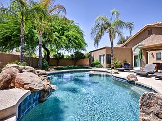 Phoenix House w/ Private Heated Saltwater Pool!