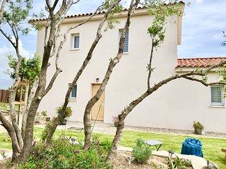 MarInCelu en Corse : Casa Alta à 200 mètre de la plage et vue mer à 360°