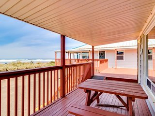 NEW LISTING! Dog-friendly, waterfront condo w/entertainment - walk to the beach!