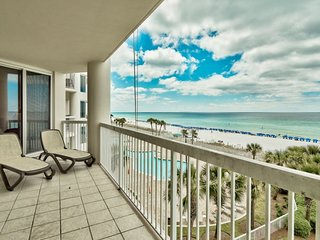 Gulf Front w/Amazing Views & Sunsets Silver Beach Towers in Destin Pool/Beach Ac