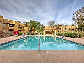 NEW! Chandler Resort Condo w/Patio & Pool Views!