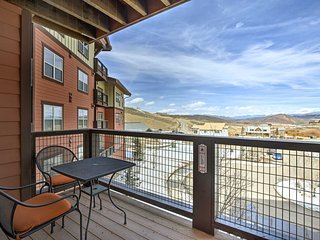 NEW Granby Ski-In/-Ski-Out Resort Condo w/Balcony!
