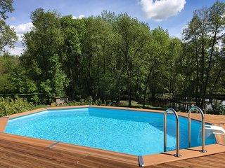 Le Jardin de la Berlande - Gites avec SPA et piscine dans superbe parc -