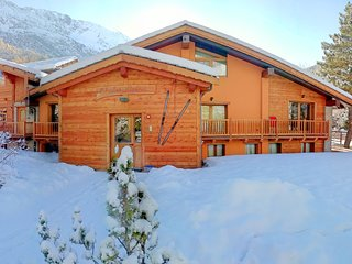 Chalet Alpina La Thuile 5 minutes walk to the ski lifts