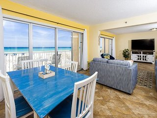 #201 Beautiful 2 bedroom/2 bath Gulf front condo.Completely remodeled!