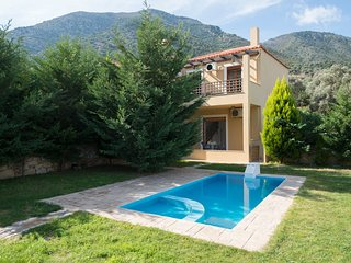 3 bedroom Villa in Vlychada, Crete, Greece : ref 5557733