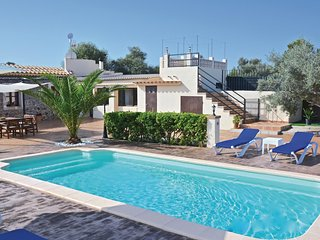 4 bedroom Villa in Can Picafort, Balearic Islands, Spain : ref 5535811