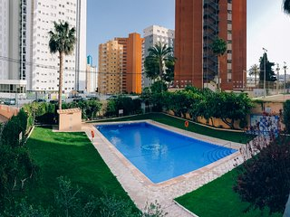 Great apt in the heart of Benidorm,close to beach!
