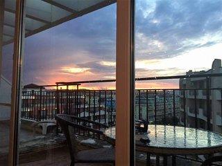 Top Floor Apartment, South Sunny Beach