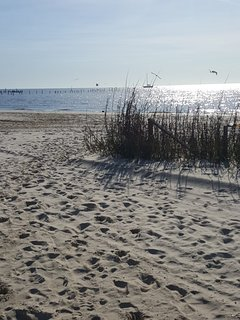 Most days you have the beach to yourself..