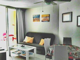 Apartamento coqueto ApoloVII urbanización privada.