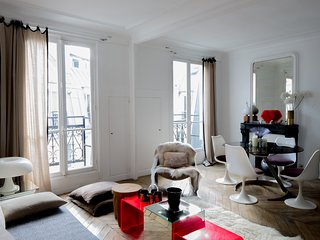 Heart of Paris, Montorgeuil pedestrian area quiet and cosy flat