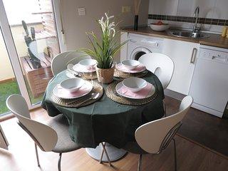 Apartamento centrico con terraza en Aguilar de Campoo