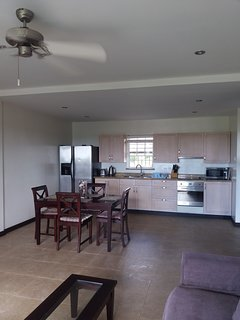 Dining and full kitchen