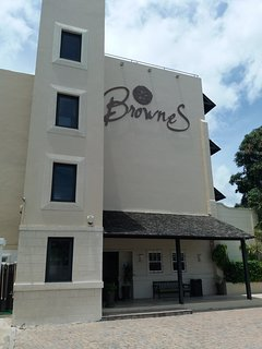 Entrance to Brownes