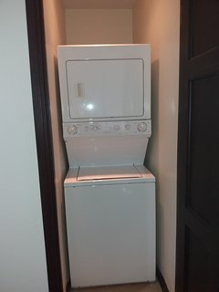 In apartment washer and dryer