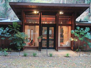 Midcentury Cabin in the Redwoods