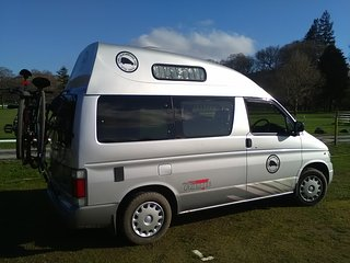 Carlisle Campers Cumbria Lake District Campervan Rental/ Hire