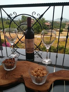 There is no better place to enjoy a glass of wine.