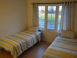 Sunny private bedroom with parking at York University