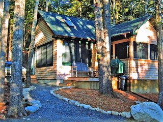 Winding Brook Cottage - cozy cabin in the woods near Bar Harbor & Acadia