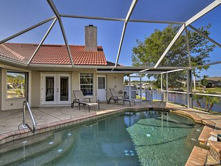 NEW! Lavish Port Charlotte Home w/Pool, Spa & Dock