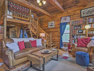 Peaceful Whittier Cabin w/Trout Stream & Koi Pond!