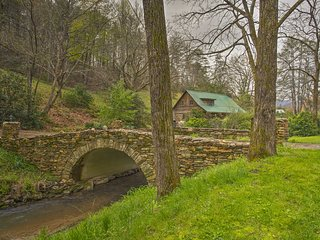 NEW! Whittier Cabin w/ Trout Stream & Koi Pond!