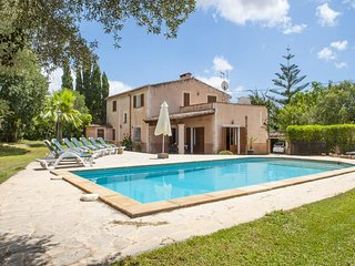 4 bedroom Villa in Cas Concos, Balearic Islands, Spain : ref 5000814