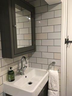 Bathroom on the top floor