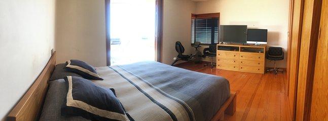 Panorámica dormitorio principal
