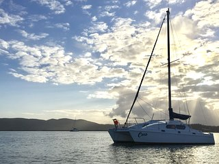 Unique catamaran stay experience