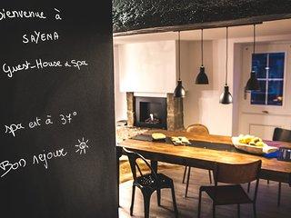 Sayena Guest House et Spa, maison de vacances lifestyle avec jacuzzi privatif la Baule