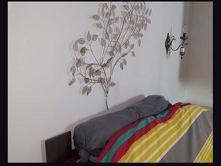 appartement  haussmannien  avec un cachet rarissime avec cheminee en marbre