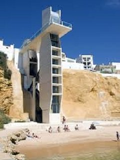 Elevator to the beach