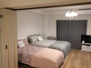 Apartment quiet and convenient 3 minutes walk from Honmachi station