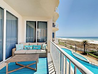 Endless Gulf Views at Spanish Key – Chic 3BR Condo with Pool, Gym & Hot Tub
