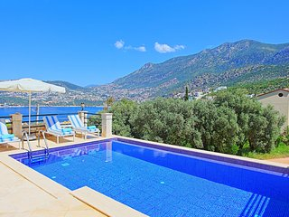 Villa Secilia: Modern villa in Kalkan with pool close to the beach