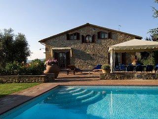 Fantastica Villa Toscana con giardino,piscina e SPA