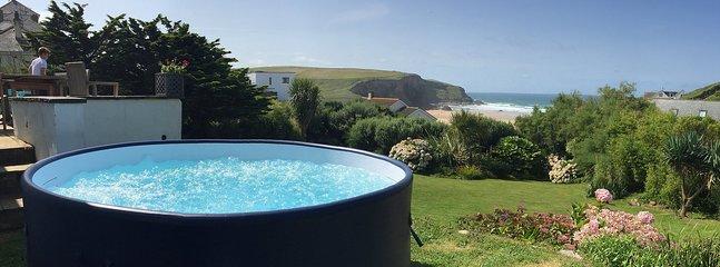 Optional hot tub - £225 per week